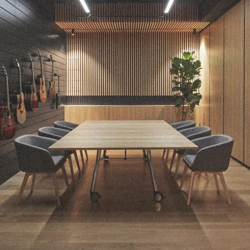 Aménagement salle de réunion lyon